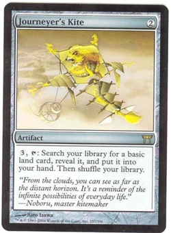 Magic the Gathering Champs of Kamigawa Single Journeyer's Kite Foil