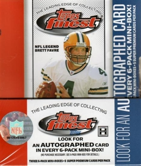 2006 Topps Finest Football Hobby Box