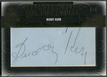2011 SP Legendary Cuts #NYSFBK Buddy Kerr Legendary Black Signatures Auto #5/8