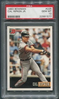 1993 Bowman Baseball #225 Cal Ripken Jr. PSA 10 (GEM MINT)