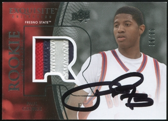 2013/14 Exquisite Collection 2010-11 Rookie Auto Patch #SP1 Paul George 39/99
