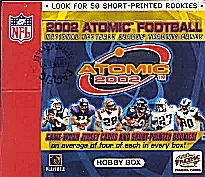 2002 Pacific Atomic Football Hobby Box