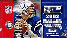 2002 Upper Deck XL Football Hobby Box
