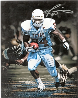 Ricky Williams Autographed Texas Longhorns 8x10 From Panini VIP Party (Panini Authentic)
