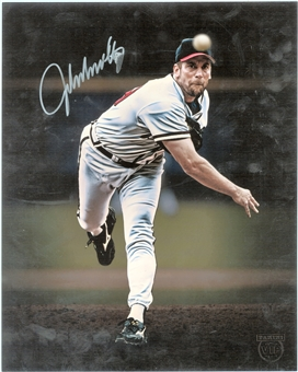 John Smoltz Atlanta Braves Autographed 8x10 Photo From Panini VIP Party (Panini Authentic)