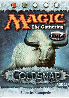 Magic The Gathering Coldsnap Aurochs Stampede Precon Theme