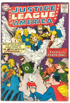 Justice League of America #21 VG+