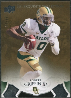2012 Exquisite Collection #ERRG Robert Griffin III Rookie #11/99