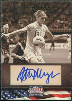 2012 Americana Heroes and Legends #49 Alex Morgan Auto #154/179