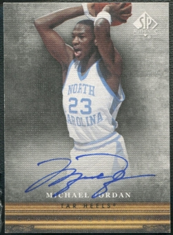2013/14 SP Authentic #CC18 Michael Jordan Canvas Auto