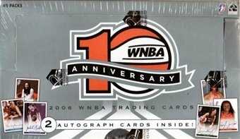 2006 Rittenhouse WNBA 10th Anniversary Basketball Hobby Box