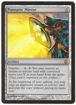Magic the Gathering Darksteel Single Panoptic Mirror Foil