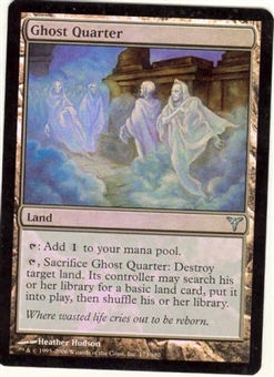 Magic the Gathering Dissension Single Ghost Quarter FOIL