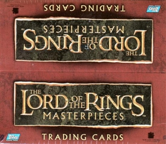 Lord of the Rings Masterpieces Hobby Box (2006 Topps)