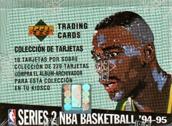 1994/95 Upper Deck Collector's Choice Series 2 Spanish Basketball Box