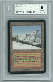 Magic the Gathering Alpha Single Taiga BGS 8 NM-MT (9,7.5,8,8)