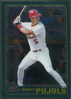 2001 Topps Chrome Traded #T247 Albert Pujols Rookie