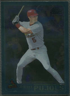 2001 Topps Chrome #596 Albert Pujols Rookie