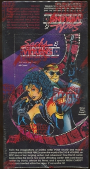 Sachs & Violens Trading Card Box (1993 Comic Images)
