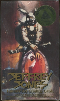 Jeffrey Jones Fantasy Art Trading Cards Box (1993)