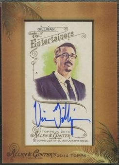 2014 Topps Allen and Ginter #AGAVG Vince Gilligan Framed Mini Auto