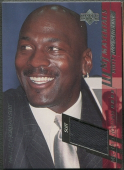 2000/01 Upper Deck #MJ1 Michael Jordan MJ Materials Suit