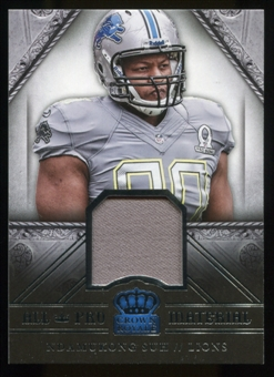 2014 Crown Royale All Pro Materials #11 Ndamukong Suh Serial #173/499