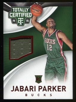 2014-15 Totally Certified Jerseys Red #77 Jabari Parker Serial #51/249