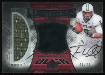2013 UD Black Rookie Lustrous Jersey #BRL21 Terrance Williams Serial #1/75!