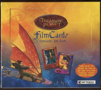 Disney's Treasure Planet Film Cards Box (Artbox)