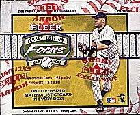 2002 Fleer Focus Jersey Edition Baseball Hobby Box