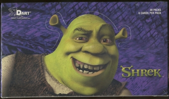 Shrek Trading Cards Box (2001 Dart)
