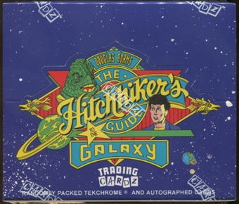 The Hitchhiker's Guide To The Galaxy Box (1994 Cardz)