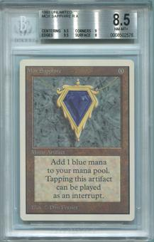 Magic the Gathering Unlimited Single Mox Sapphire BGS 8.5 - *0008502576*