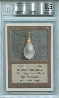Magic the Gathering Unlimited Single Mox Pearl BGS 8.5 - *0008502529*