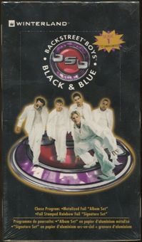 Backstreet Boys Black And Blue Hobby Box (2000)