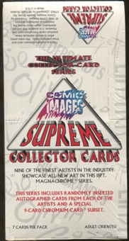 Supreme Collector Cards (1996 Comic Images)