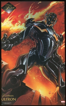2015 Fleer Retro Marvel 1994 Flair Prints #7 Ultron