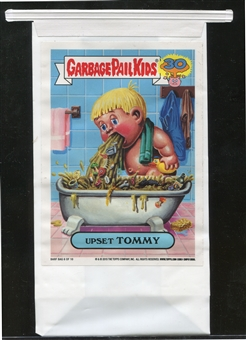 2015 Topps Garbage Pail Kids 30th Anniversary Barf Bags #6 Upset Tommy