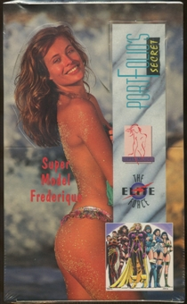Portfolio's Secret Super Model Trading Cards Box