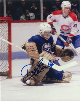 Don Edwards Autographed Buffalo Sabres 8x10 CCM Photo