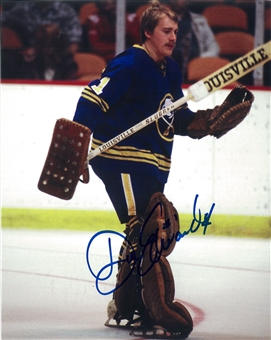 Don Edwards Autographed Buffalo Sabres 8x10 Louisville Photo