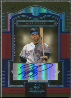 2005 Timeless Treasures #31 Mike Piazza Signature Platinum Mets Auto #1/1