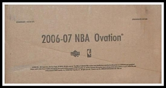 2006/07 Upper Deck Ovation Basketball Hobby 16-Box Case