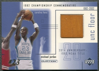 2001/02 Upper Deck Ovation #MJF3 Michael Jordan MJ UNC Memorabilia Floor