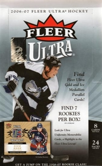 2006/07 Fleer Ultra Hockey Hobby Box (UD)