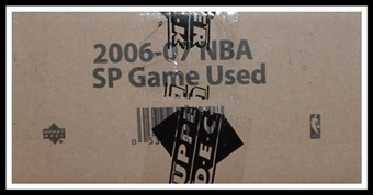 2006/07 Upper Deck SP Game Used Basketball Hobby 12-Box Case