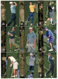 2002/03 ITG BAP Signature Series Golf Complete 100 Card Set