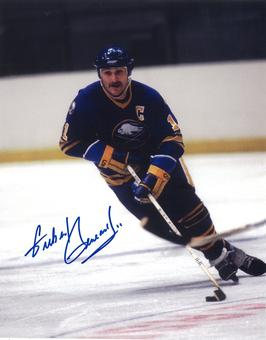 Gilbert Perreault Autographed Buffalo Sabres Cooper 8x10 Hockey Photo