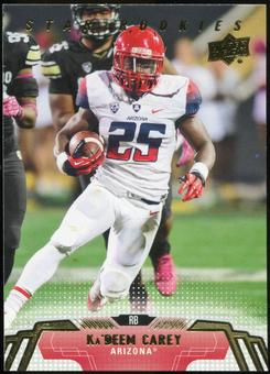 2014 Upper Deck #264 Ka'Deem Carey SP RC